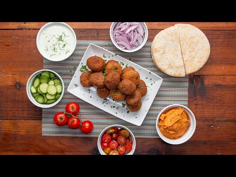 Falafel And Hummus In A Blender • Tasty Lunch Videos