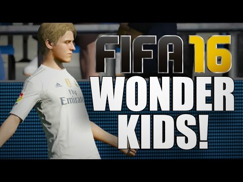 FIFA 16 - Top 10 Wonderkids You Need To Buy