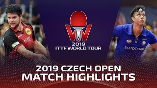Дмитрий Овчаров vs Владимир Самсонов | Czech Open 2019 (R16)