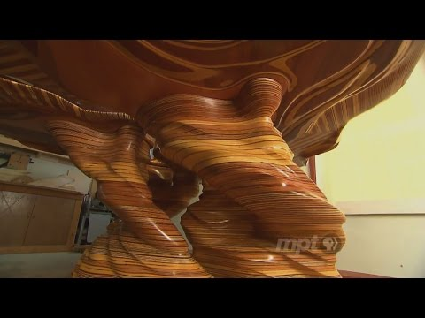 Turning plywood into dynamic sculptures