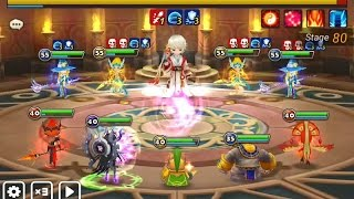 summoners war toa 80 normal chiwu pioneer fire and basic team for toa