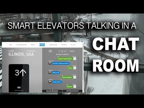 Smart Elevators... Talking In A Chat Room!?!