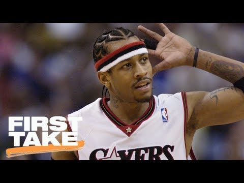 Kyrie Irving Doesn't Compare To Allen Iverson   First Take   June 15, 2017