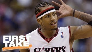 Download Kyrie Irving Doesn't Compare To Allen Iverson | First Take | June 15, 2017 Mp3 and Videos