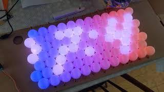 Ping Pong Ball Message Board