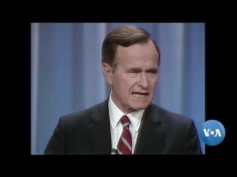 President Bush's Statesman Legacy Complicated by Divisive Politics