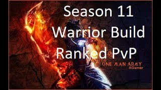 Guild Wars 2 - Warrior Build (Spellbreaker) - Ranked PvP - Season 11