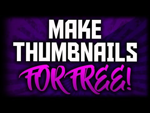 How To Make Thumbnails For FREE (Pixlr Tutorial) Make A Thumbnail For YouTube FREE WITHOUT Photoshop