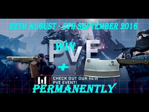 Warface - Win Free Permanent STCC + Cleaver + Many More Items - Warface PVE Reward Weeks!