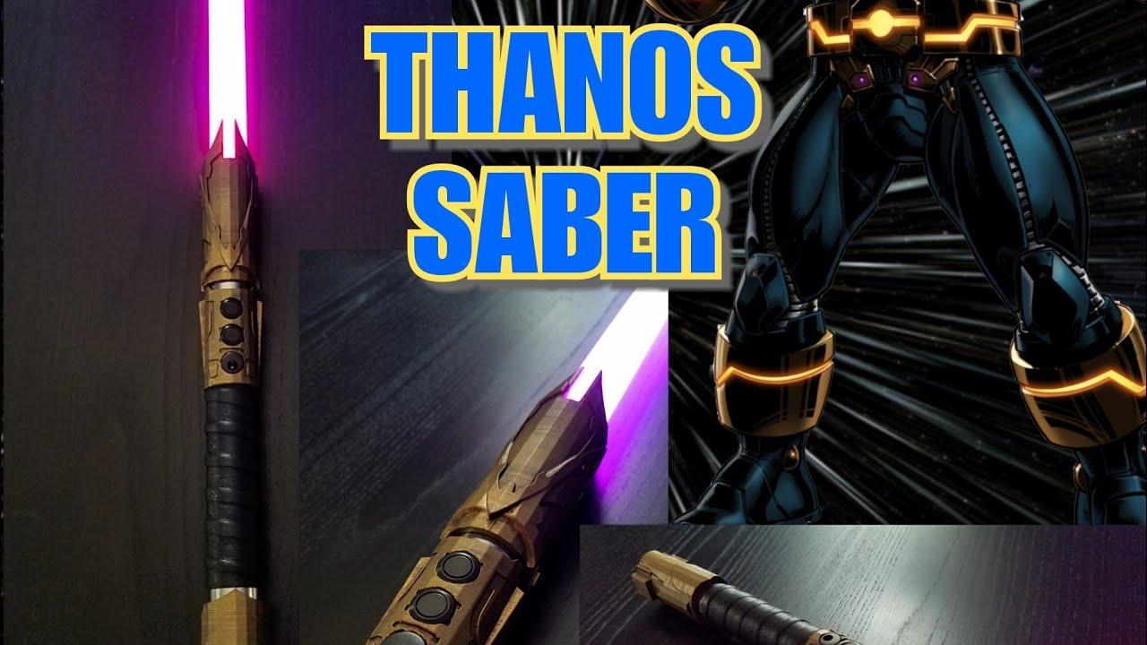Thanos Saber with Teensysaber Soundboard