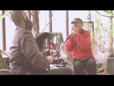 Mike Katz & Mike Whellans playing Scottish small bagpipes & harmonica