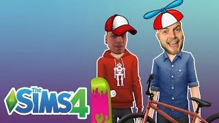 Sims 4 | YOUTUBER KIDS! | iBallistic Squid & Ash Dubh!