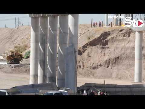 Trabajador muere en puente del vado del río Nazas