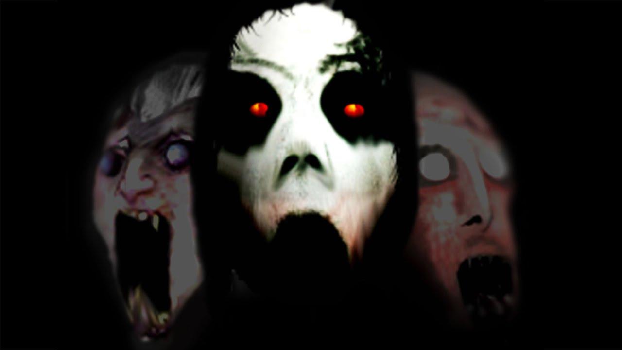 三位甜美動人的女鬼。【恐怖遊戲】Slendrina #4