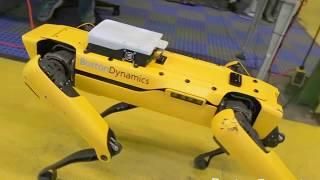 Boston Dynamics - SpotMini Robot Autonomous Navigation Tests [1080p]