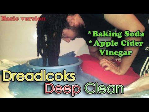 how-to-deep-clean-dreadlocks---baking-soda-acv-soak