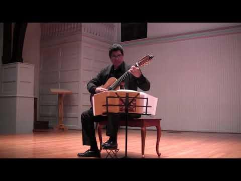Haitian Classical Guitar Music Recital, by Rafael Scarfullery
