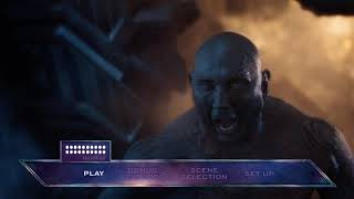 Avengers Infinity War (2018) Blu-ray™ Disc | Main Menu
