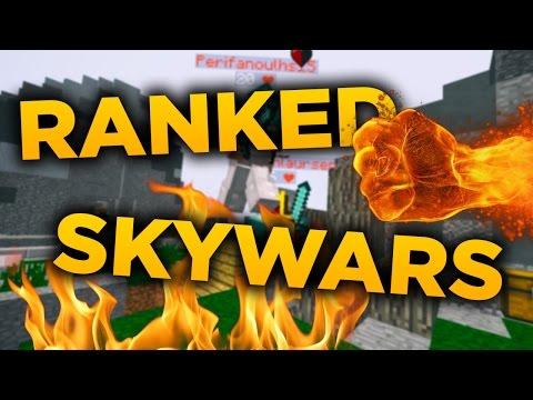 Minecraft Ranked Skywars | Jsem hacker?!