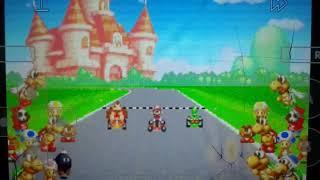 Mario Kart Super Circuit 1st Place Mario