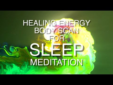 Guided Sleep Meditation | Healing Energy visualization Hypnosis for Sleeping - A clearing body scan
