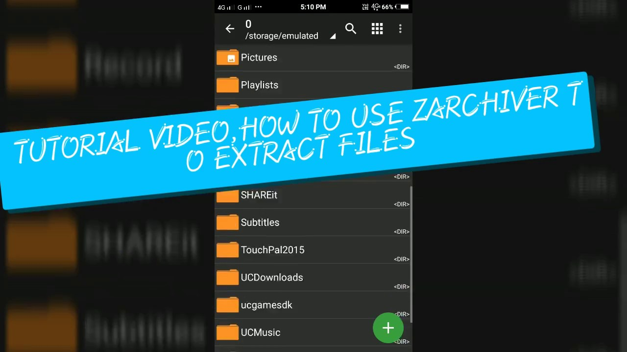HOW TO USE ZARCHIVER TO EXTRACT PPSSPP ROMS
