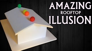 Rooftop illusion - Amazing optical illusion