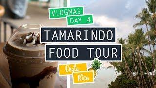 VLOGMAS DAY 4 ❄ TAMARINDO FOOD TOUR // COSTA RICA
