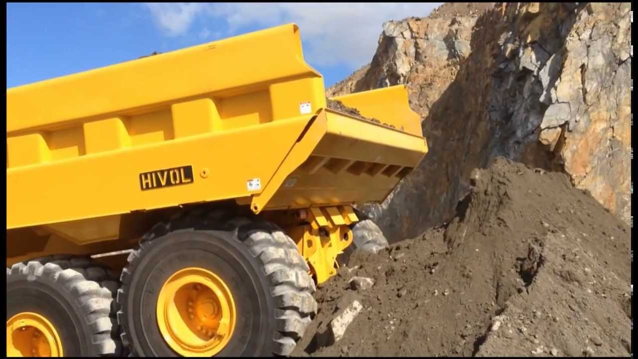 Volvo A40F with Philippi-Hagenbuch ejector body - YouTube