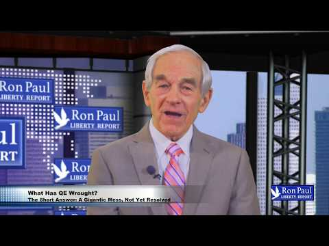 SPECIAL REPORT: What Has QE Wrought?