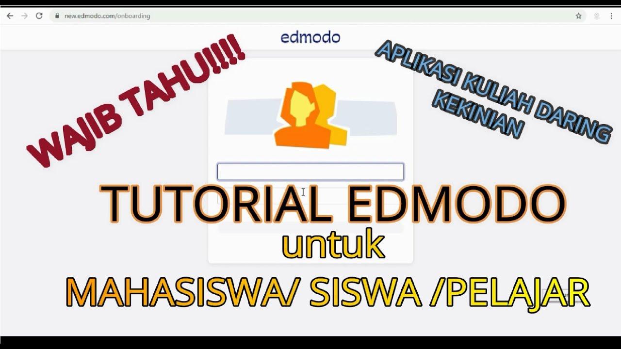 Tutorial Menggunakan Edmodo untuk Mahasiswa/Siswa/Pelajar ...