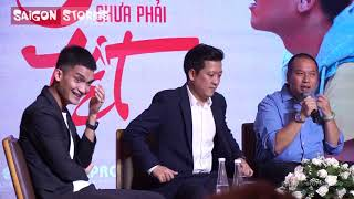 Quang Huy nói Trấn Thành - Trường Giang như Việt Nam - Thái Lan khiến mọi người phì cười