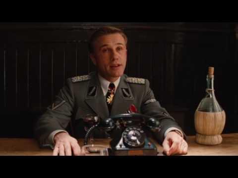 Inglourious Basterds - Colonel Hans Landa Meets Aldo The Apache