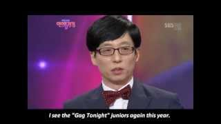 "[ENG] 2012 SBS Entertainment Awards Yoo Jae Suk Wins ""Grand Award"" 대상"