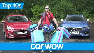How to pack your car for holiday | Top 10s