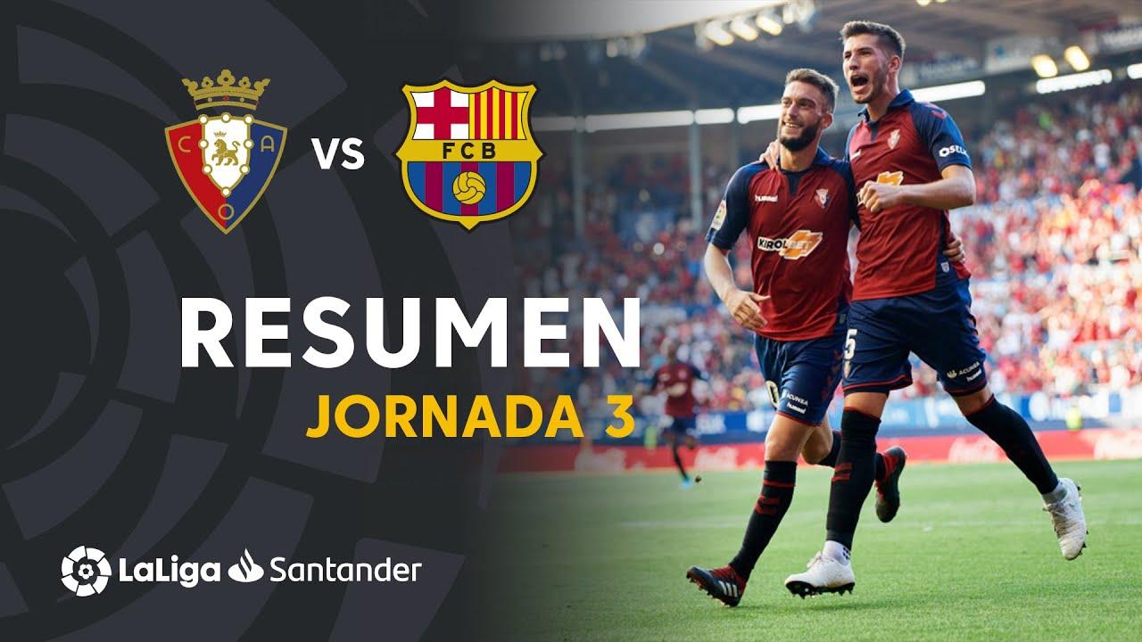 Osasuna vs Barcelona en vivo