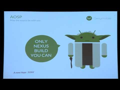 Mathieu Maret -  Building Android for my Nexus - DevFest Praha 2014