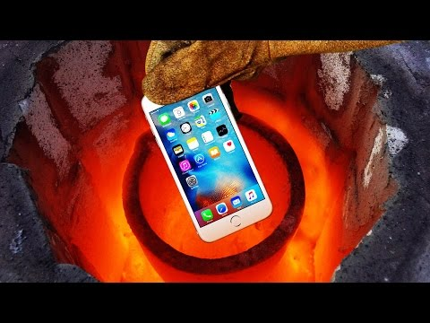 Thumbnail: Smelting an iPhone 6s in 2600 Degrees Foundry!! Will It Completely Meltdown to Liquid Metal?