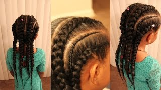 HOW TO DO FEED IN BRAIDS | SLIM THICK BRAIDS | BEGINNER|