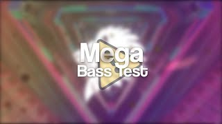 Gambar cover MEGA BASS TEST!!! ☣️