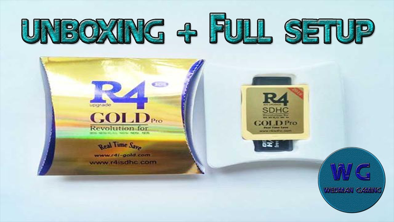 R4i Gold 2018 Unboxing and Full Setup Guide (READ DESC)