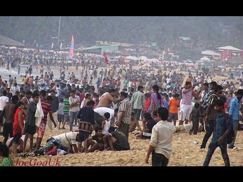 Calangute beach 1. 1. 2015