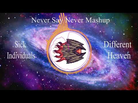 Never Say Never Mashup - Sick individuals & Different Heaven