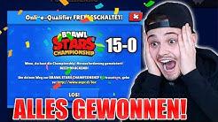 ICH GEWINNE ALLE 15 SPIELE DER WELTMEISTERSCHAFT! - Brawl Stars deutsch