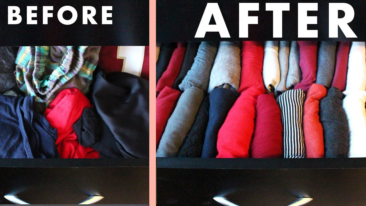 ab0230059 Tidying Up My Clothes with the KonMari Method by Marie Kondo - YouTube