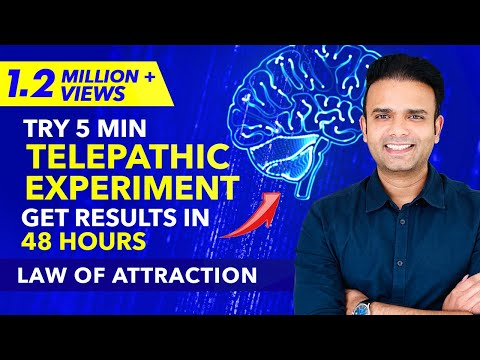 100% RESULT ✅ Send A TELEPATHIC Message To Anyone And Get Proof Within 48 Hours - Law Of Attraction