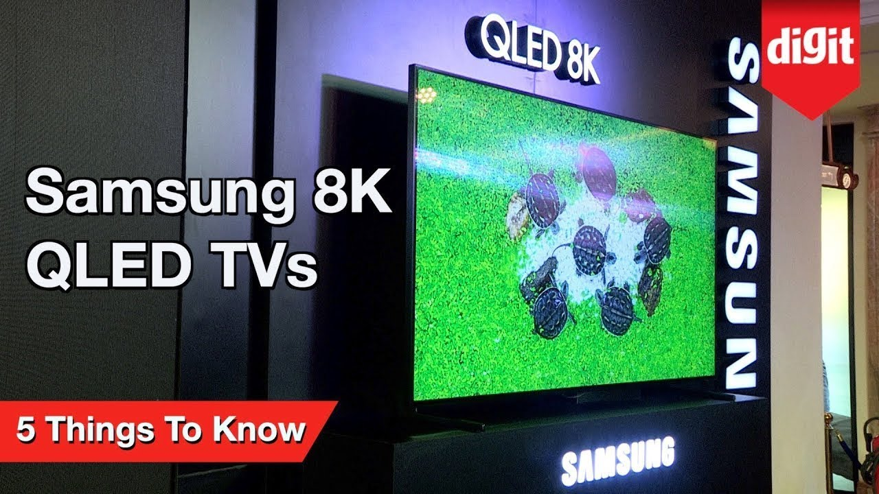 Samsung 8K QLED TVs - 5 Things You Need To Know