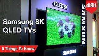 Телевизоры Samsung 8K QLED - 5 вещей, которые нужно знать