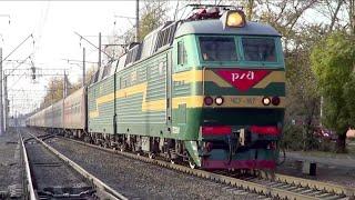 """ЧС7-167 с поездом №16 """"Москва – Екатеринбург"""":)"""