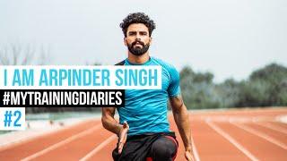 Training diaries of Arpinder Singh#2 | Triple Jump woekout | Indian triple jump #triplejump